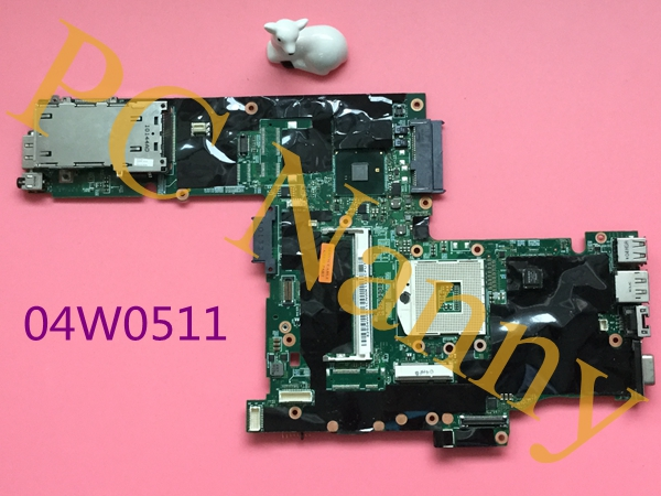 04W0511 For Lenovo ThinkPad T410 Laptop Motherboard QM57 DDR3 2xSO-DIMM NVIDIA Quadro 512MB video