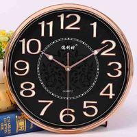 2018 Rushed Wandklok Clock And Watch Room, Luminous Electronic Clock, Three dimensional Character, Simple Silent Quartz Clock.