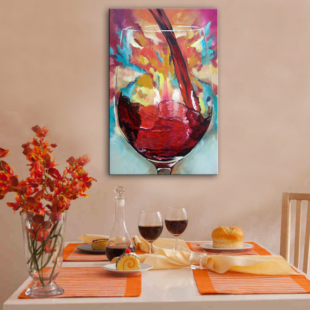 online get cheap painted wine glass aliexpress com alibaba group