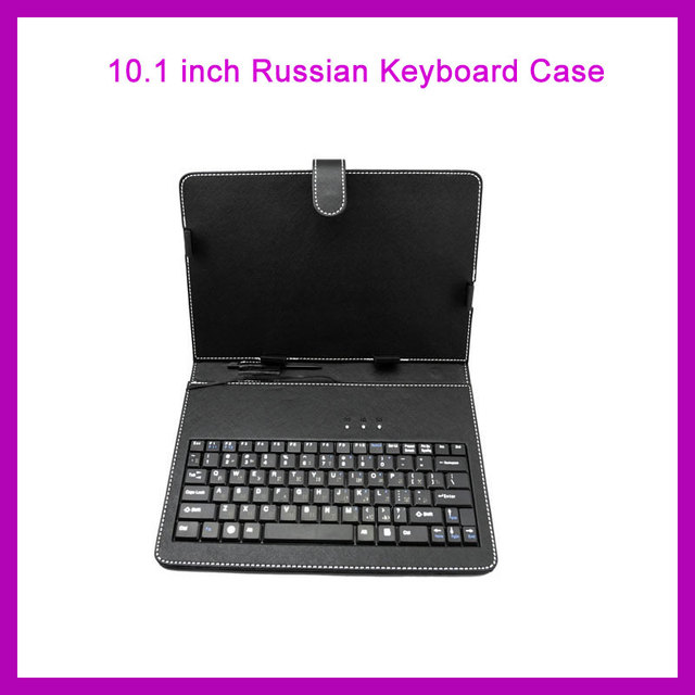 10 inch 10.1 inch Russian Keyboard Case Cover with Micro USB Stand Business Shell Keyboard