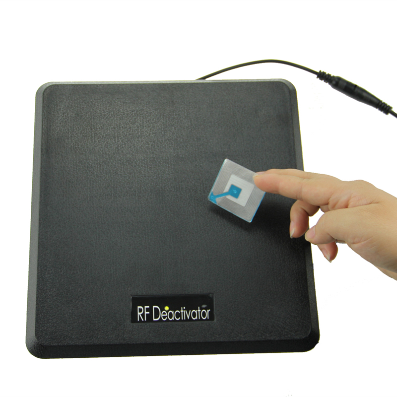 RF8.2Mhz deactivator for security label eas also can test eas security tag with sound and light alarm