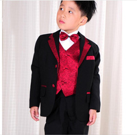 Boys Blazers Kids Boys Suits for Weddings Prom Suits Birthday Dress for Boys Kids Tuexdo Children Clothing Set for Boys F54