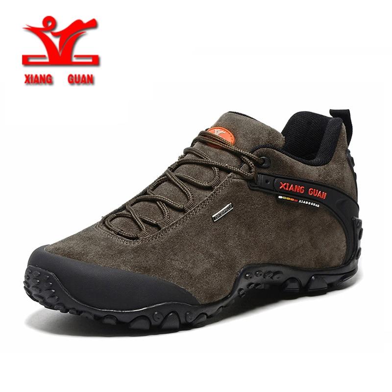 XIANG GUAN Winter Shoe Mens Sport Running Shoes Warm Outdoor Women Sneakers High Quality Zapatillas Waterproof