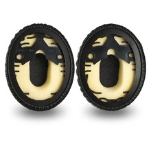 High Quality Protein Leather Foam Ear Pads for Bose QC3 OE1 ON-EAR Headphones Earpads With Buckle 12.25