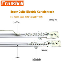 Eruiklink Super quite Curtain track for curtain motor for Smart Home, High quality Electric Curtain track for Xiaomi aqara motor