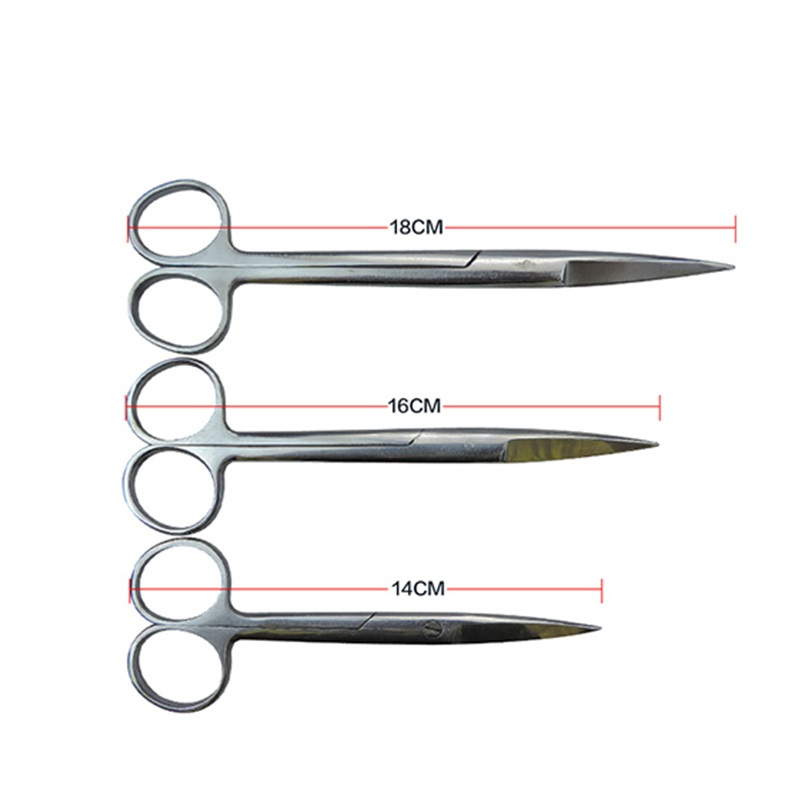 Pet Cattle Sheep Pig Stainless Steel Hv3n Surgical Scissors Surgery Anatomy Surgical Scissors Surgical Tool Kit