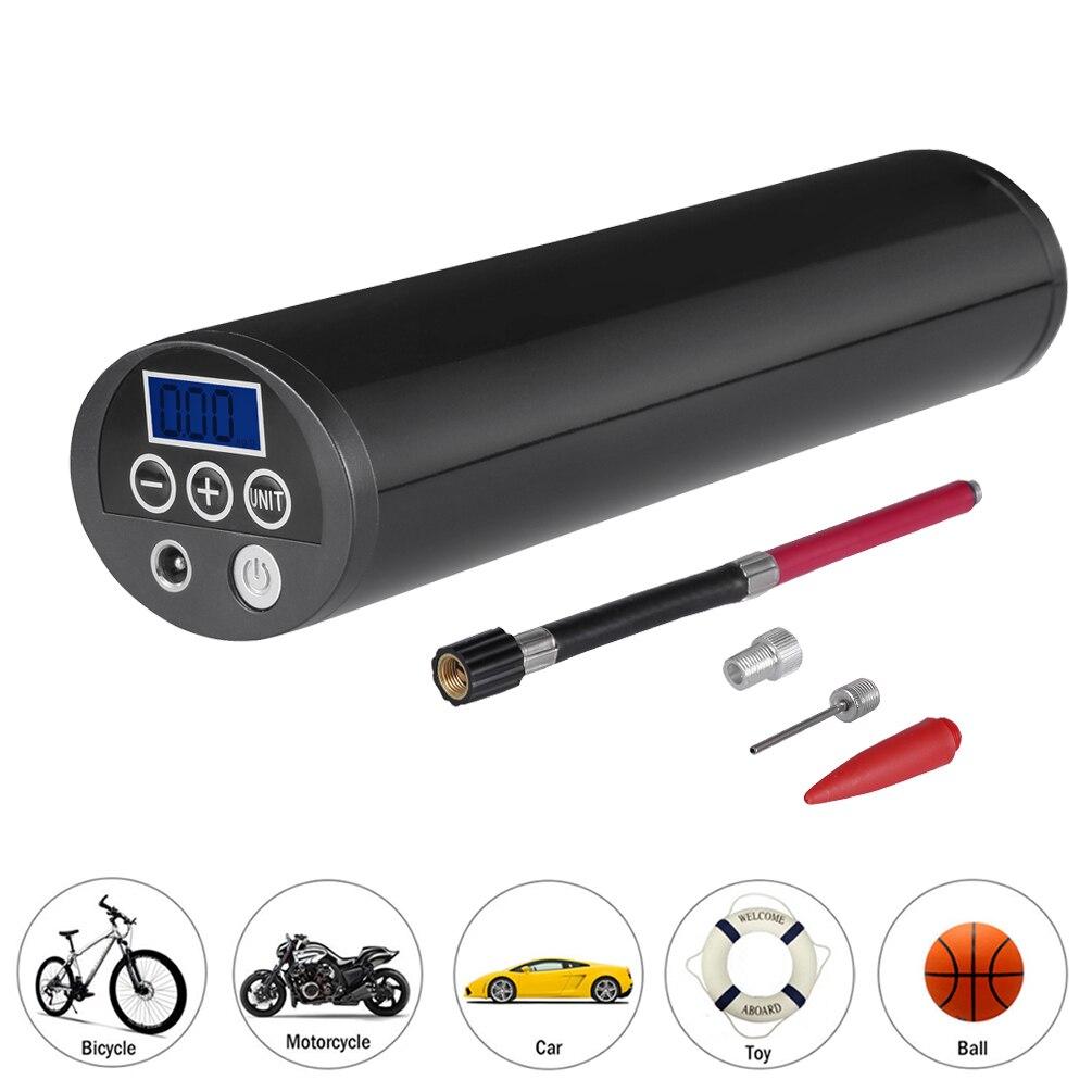 CARGOOL портативный воздушный компрессор цифровых шин насос Портативный мини-Надувное С ЖК-дисплей Дисплей встроенный литиевый Батарея