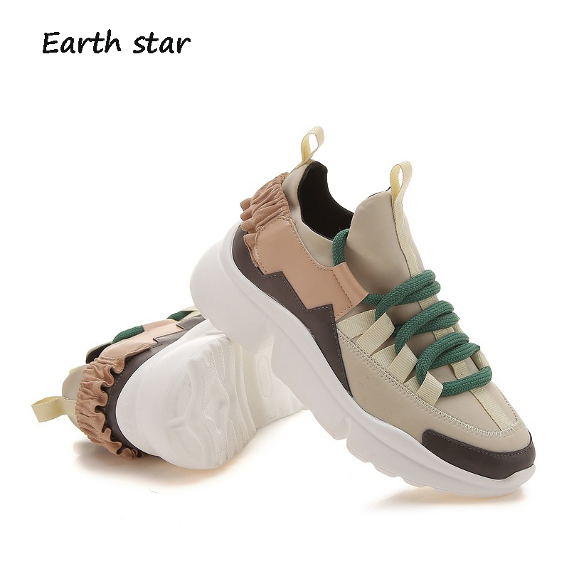 Platform Sneaker Lady chaussure Autumn