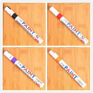 Image 3 - Car shape colorful waterproof pen car tire tire tread metal permanent paint mark graffiti oily marker