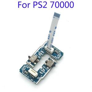 20 takım Ein Aus Kapalı Schalter Güç Keypay Tuş Takımı Sıfırlama anahtarlama paneli Playstation 2 için PS2 7000X