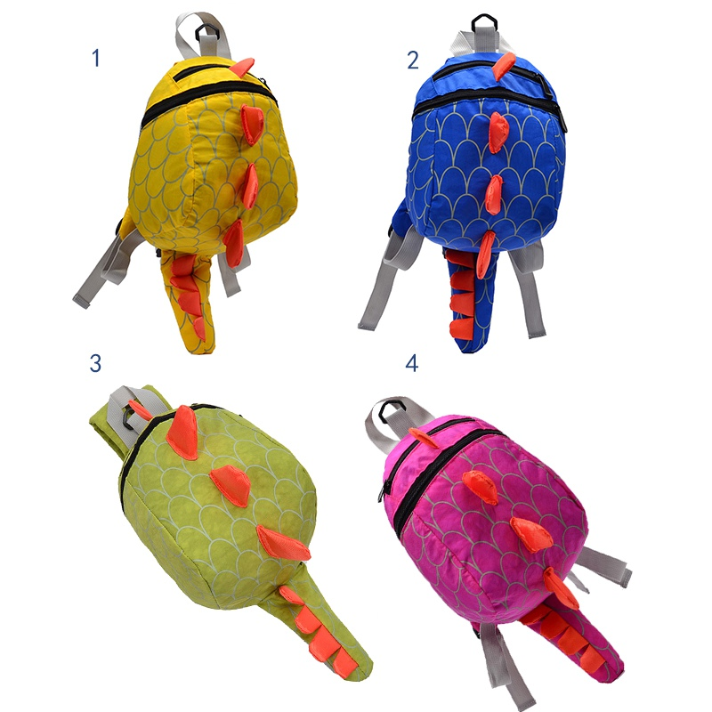 1-4Y Baby Infant Toddler Dinosaur Anti lost backpack for kids Children Backpack aminals Kindergarten School bags