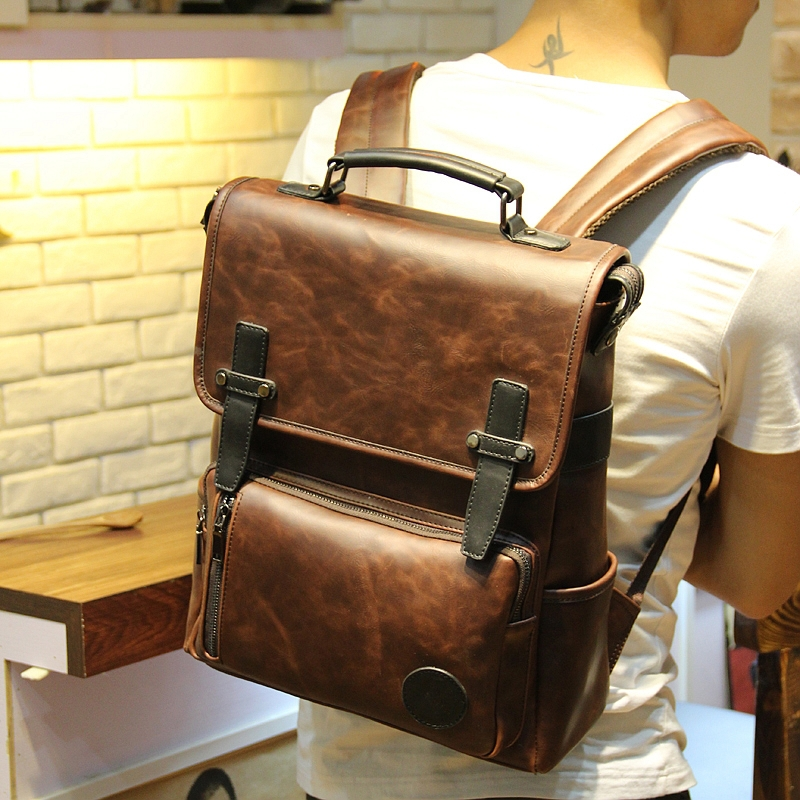 Online Buy Wholesale cool leather backpacks from China cool ...