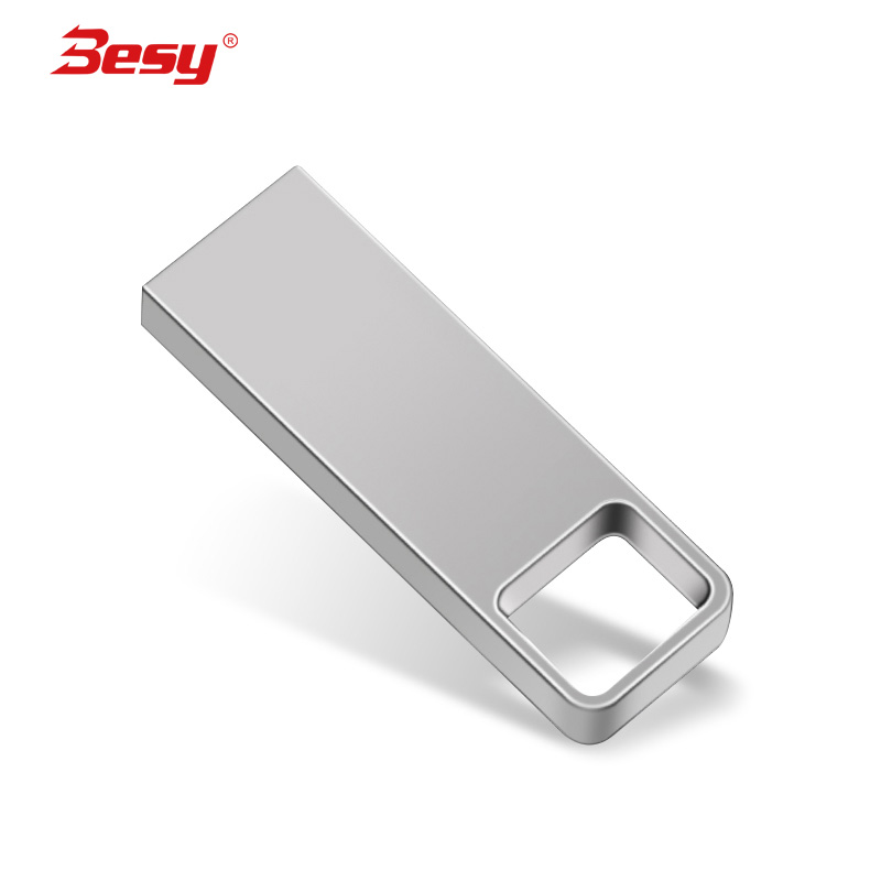 usb flash drive 32gb metal usb stick 2.0 High Speed pen drive 64gb 16gb 8gb 4gb pendrive Keychain 128gb Memory stick(China)