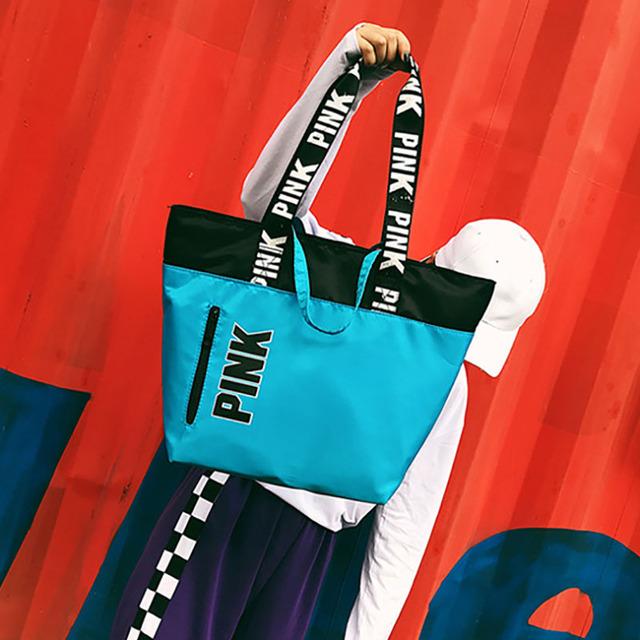 Women's Multifunctional Nylon Sports Bag