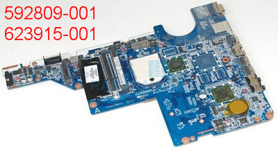 Laptop Motherboard 623915 001 for HP CQ56 G56 CQ62 G62 DA0AX2MB6E1 Without Battery 100%Tested Fully Without Battery