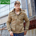 Pockets Design Snow Male Jacket Thick Warm Winter 2016 Windbreaker Army Casual  veste homme Coat Brand Clothing