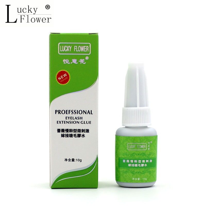 Professional 15ml Eyelash Extension Glue Quick Dry Low Odor Low Stimulus Long Lasting 30days Eyelashes Glue Adhesive For Lashes eyelash extension glue remover gel type for lashes 15ml made in korea scent