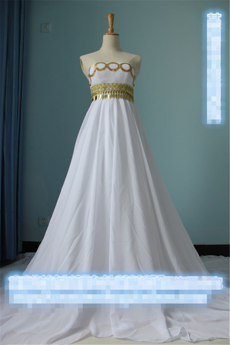 Free Shipping! Sailor Moon Princess Serenity Dress Wedding Gown ...