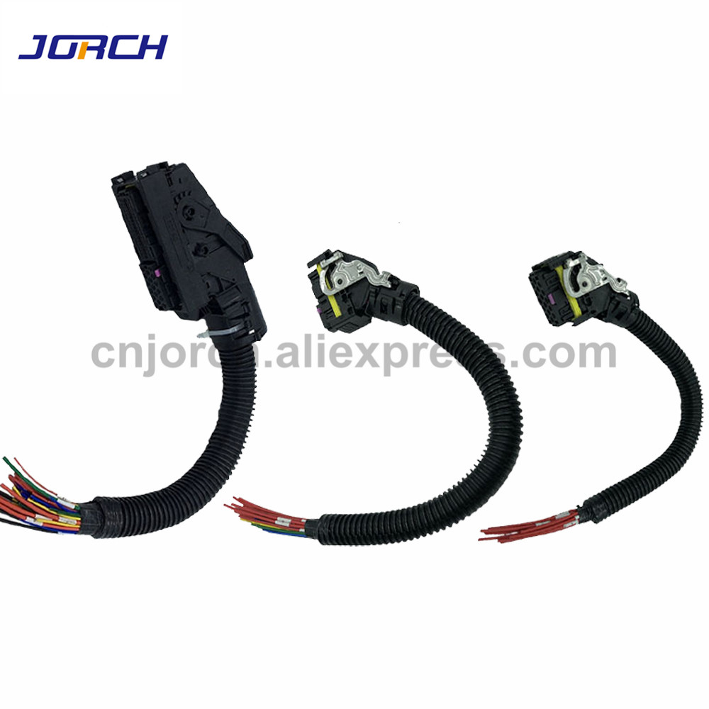 1set 16Pin 36Pin 89 Pin Way EDC7 Common Rail ECU Connector Auto PC Board Socket With Wiring Harness Pigtail For Bosch 19284041951set 16Pin 36Pin 89 Pin Way EDC7 Common Rail ECU Connector Auto PC Board Socket With Wiring Harness Pigtail For Bosch 1928404195