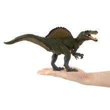 24*16 см Юрский Мир Динозавров моделирование памяти сафьян спинозавр детская пластиковая модель игрушки подарок на день рождения
