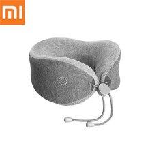Original Xiaomi Mijia LF LERAVAN Multi function U shaped Massage Neck Massage Pillow Neck Relax Muscle Therapy Massager Sleep