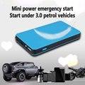 Nova Fina Multifunções 8000 mah Carro de Partida De Emergência Carro De Poder Móvel Cobrando Tesouro de Arranque Banco de Potência Da Bateria de Segurança Auto