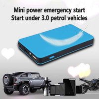 New Thin Multifunction 6000mah Car Emergency Starting Power Car Mobile Charging Treasure Starter Safety Auto Battery
