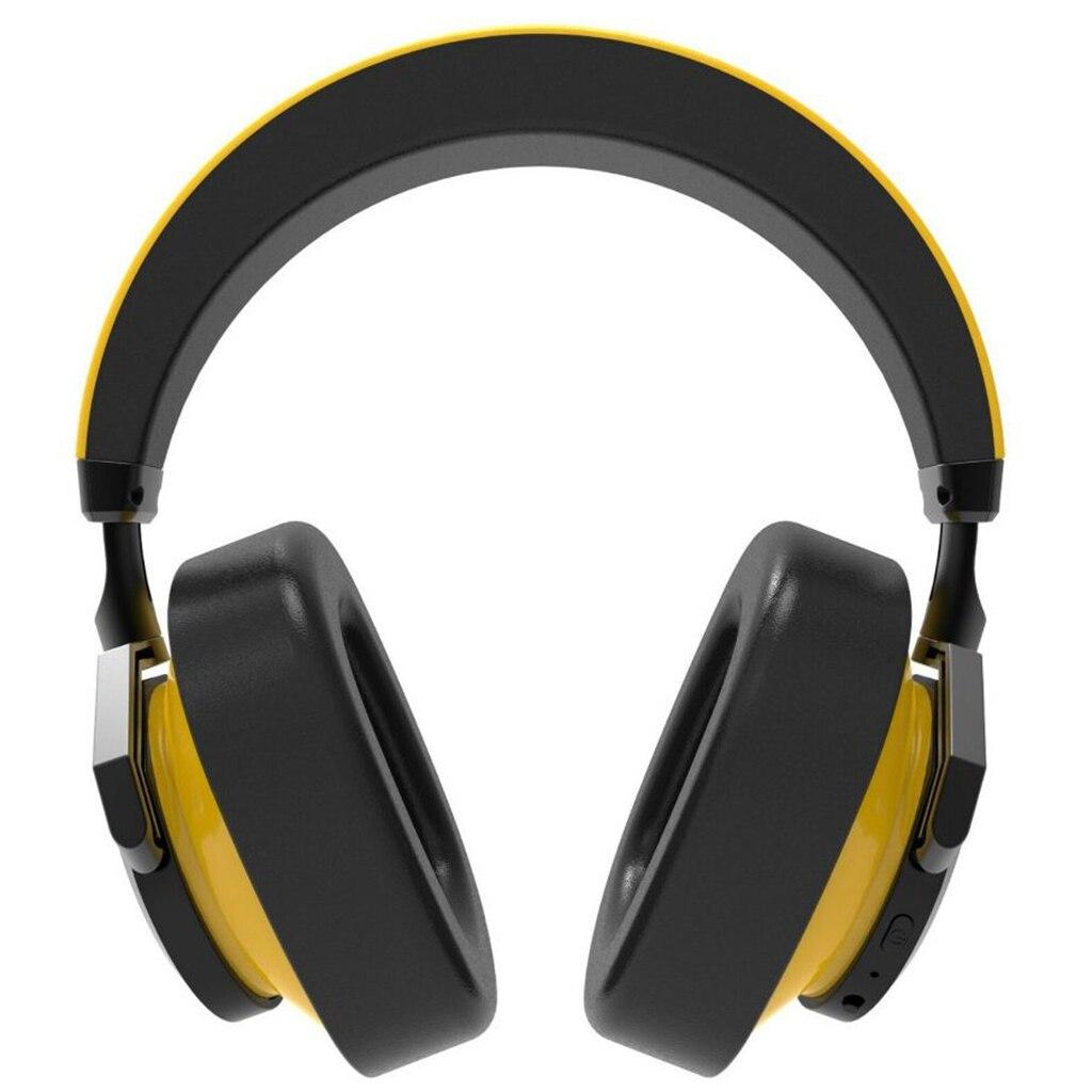 Casque Bluetooth Bluedio casque anti-bruit actif casque sans fil jaune sur l'oreille casque Bluetooth - 4
