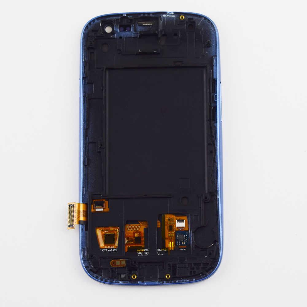 لسامسونج غالاكسي S3 Neo عرض مجموعة المحولات الرقمية لشاشة تعمل بلمس الإطار لسامسونج i9300 عرض i9301 i9300i i9308i i9301i