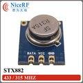 4 unids/lote STX882 433/315 MHZ modulación ASK Transmisor de RF módulo envío gratis