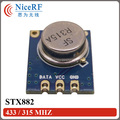 4pcs/lot  STX882 433/315MHZ ASK modulation RF Transmitter module free shipping