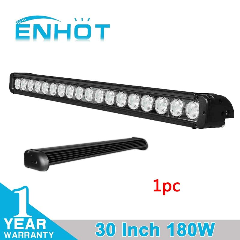 ENHOT 30 Inch 180W CREE LED CHIP LIGHT BAR COMBO BEAM 30INCH CAR LED LIGHT BAR