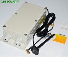 LPSECURITY 4G 2G Wasserdichte 7 relais Echte Zeit GSM Fernbedienung Relais Ausgang mit Schalter Box GSM 850/900/1800/1900 Mhz