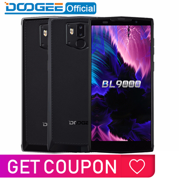 "2018 New DOOGEE BL9000 Smartphone 6GB 64GB Helio P23 Octa Core 5V5A Flash Charge 9000mAh Wireless Charge 5.99"" FHD+ Android 8.1"