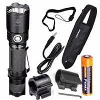 Fenix TK20R 1000 люмен Высокая Ёмкость USB Перезаряжаемые светодиодный тактический фонарь + Батарея ALG 00 крепление ALG 01 оружия рейку