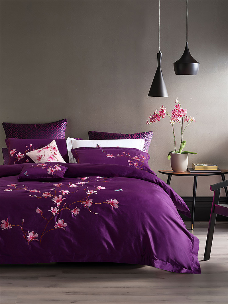 Purple Queen Comforter Sets Promotion-Shop for Promotional Purple ...