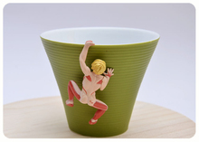 Original Genuine Bulks Attack on Titan  on the edge of cup Capsule Model Gashapon figure Kids Toy Gift
