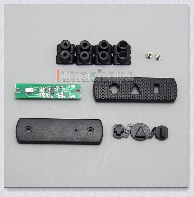 1set Hifi Mic Volume Control Remote Adapter DIY Parts For Pioneer HDJ 2000 Sony MDR EX1000