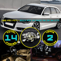 14x 5630 5730 LED Canbus Dome Map License Plate Light Interior Cargo Area Kit Fit For