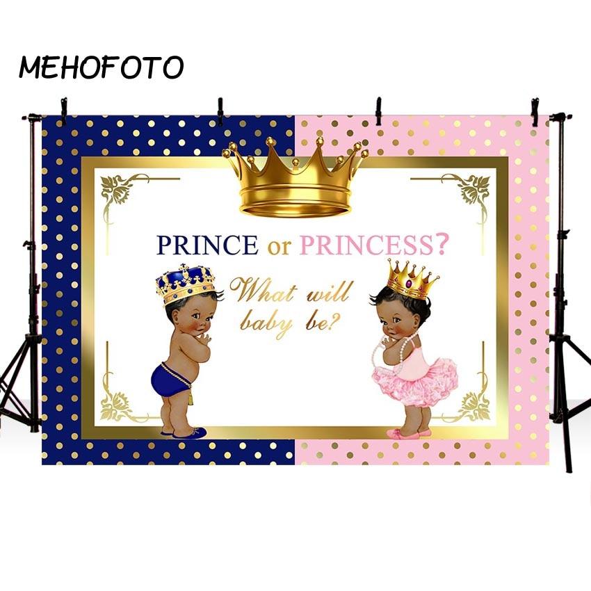 Reveal Group: Baby Shower Backdrops Prince Or Princess Royal Gender