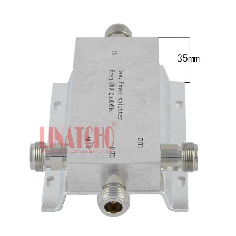 3-vägs n typ rf power divider power splitter 800-2500MHz signal - Kommunikationsutrustning - Foto 3
