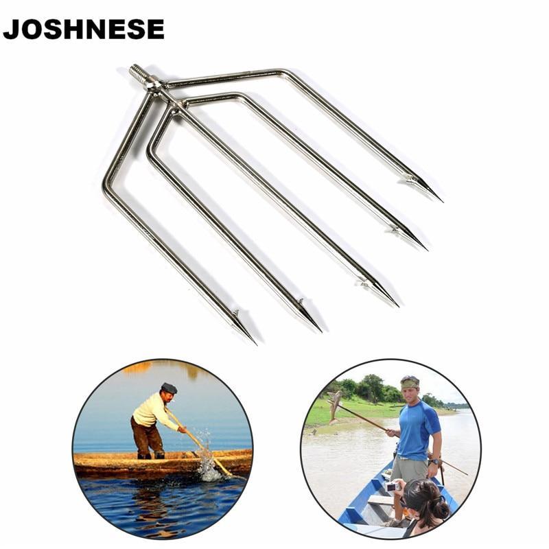 Joshnese fishing spear 5 prong spearhead fork harpoon tip for Fishing spears for sale
