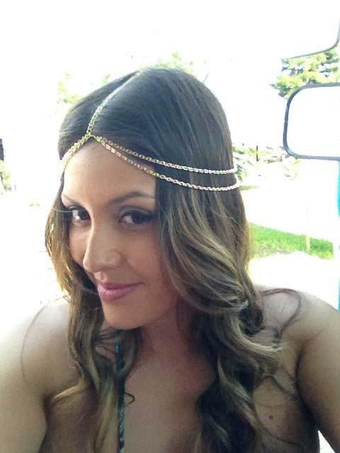 HTB1b2eBGFXXXXXpXXXXq6xXFXXXq Boho Style Two-Layer Gold Head Chain Jewelry
