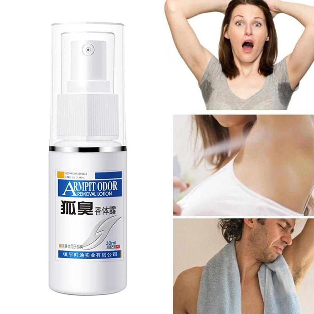 30ml Deodorant Spray Body Scents Antiperspirant Spray Underarm Odor Removal Body Armpit Sweat Deodorant For Women Men