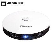 2017 Nueva AODIN M18 Proyector HD 1080 p Android WiFi Mini Inteligente Batería de Cine En Casa 3D Proyector Beamer Soporte AirPlay Miracast
