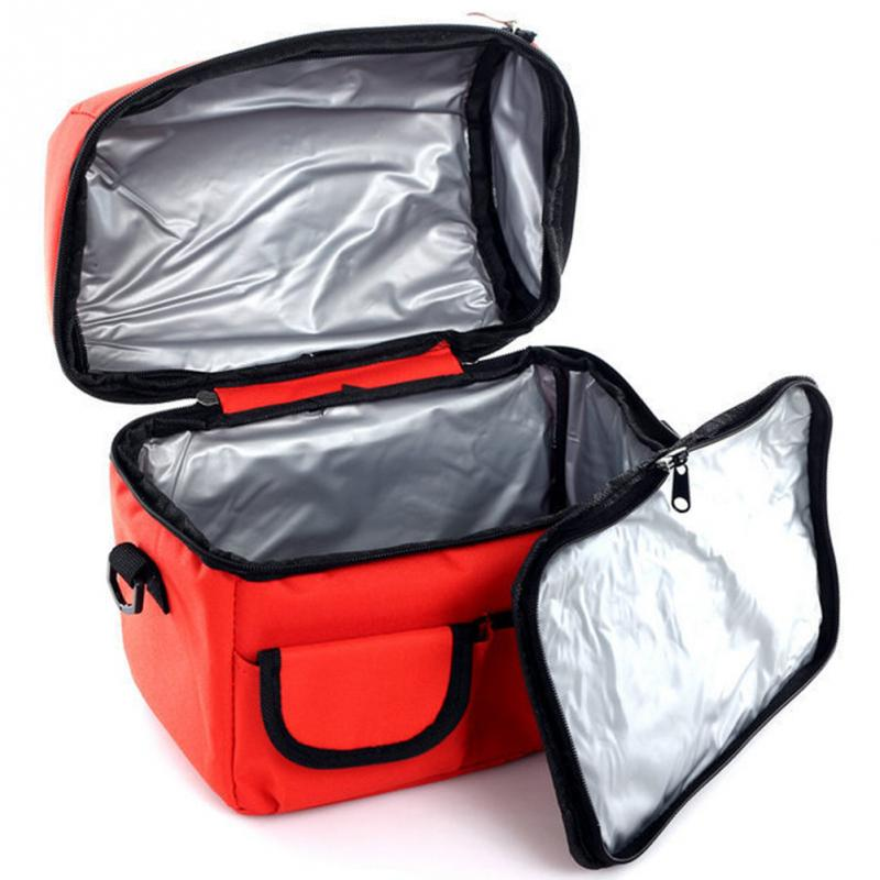 Lunchboxes Thick Double-layer Insulation Bag Breast Milk Fresh Food Package Food Storage <font><b>Ice</b></font> <font><b>Pack</b></font> Picnic Bag Large <font><b>Lunch</b></font> Bags image