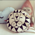 Cute Knitted Dot Crazy  Baby Pillow Seat Cushion For Children Newborn Bedding Baby Room Decor 1pcs