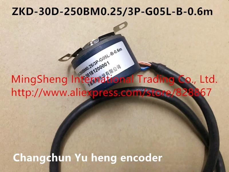 Original new 100% Changchun Yu heng encoder ZKD 30D 250BM0.25/3P G05L B 0.6m optical encoder sensor switch-in Switches from Lights & Lighting    1
