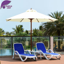 Purple Leaf Patio Umbrella 9 84 ft Market Outdoor Glass fibre Table Cafe Beach Sombrilla de