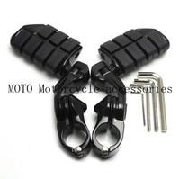 32mm 360 degree 1 1/4 Bars Adjustable Short Highway Motor Foot Pegs Footpeg Footrests For Harley Electra Road King Street Glide